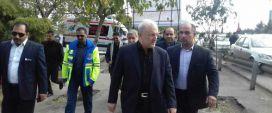 بازدید وزیر بهداشت از موکب های خدمات رسانی به زائران پیاده حضرت علی ابن موسی الرضا(ع)
