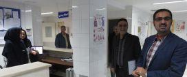 بازدید معاون درمان دانشگاه علوم پزشکی مشهد از شبکه بهداشت و درمان کلات