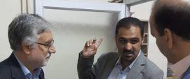 بازدید رییس دانشگاه علوم پزشکی مشهد از بیمارستان شهید هاشمی نژاد