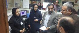بازدید معاون درمان دانشگاه علوم پزشکی مشهد از شبکه بهداشت و درمان درگز