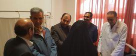 بازدید سرزده معاون درمان دانشگاه علوم پزشکی مشهد از بیمارستان موسی ابن جعفر(ع)